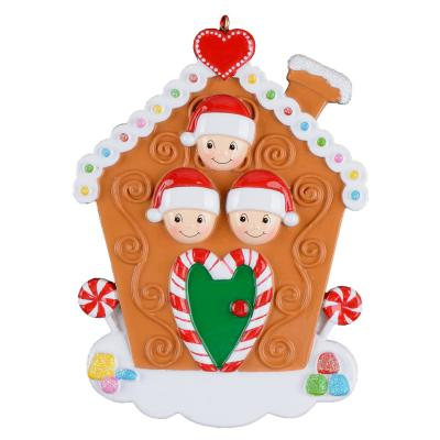 Gingerbread Family 3