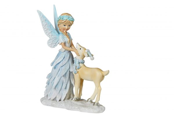 Blue Fairy with Deer